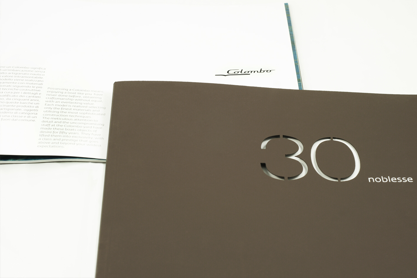 Colombo Yacht brochure