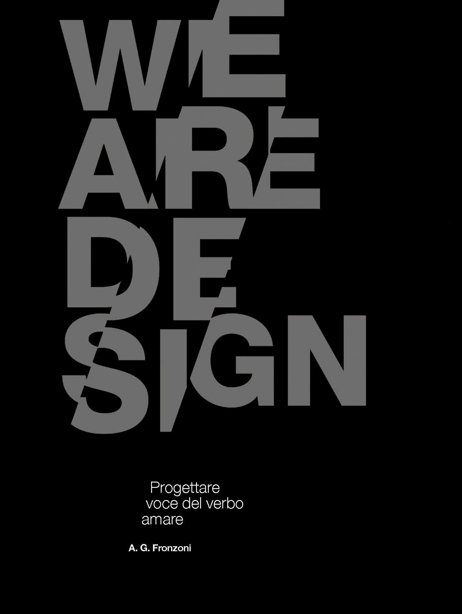 Poster we are design Vito Della Speranza